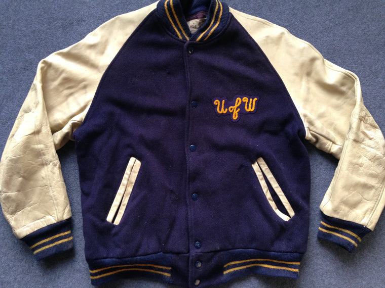 Vintage Washington Huskies varsity jacket - M