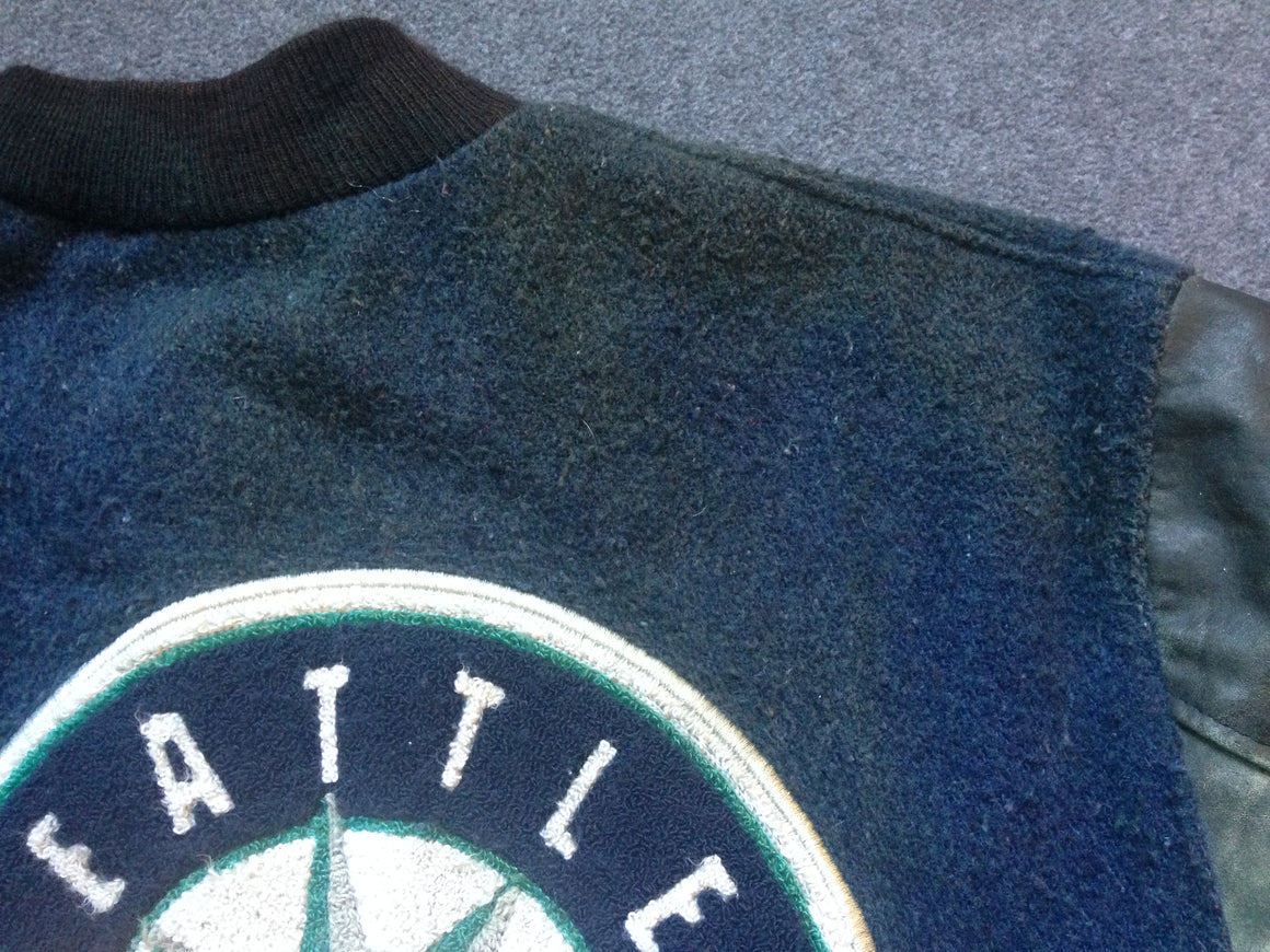 90s Seattle Mariners varsity jacket - 2XL