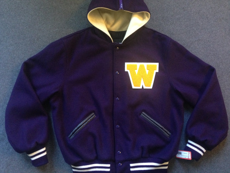 Washington Huskies Letterman jacket - L