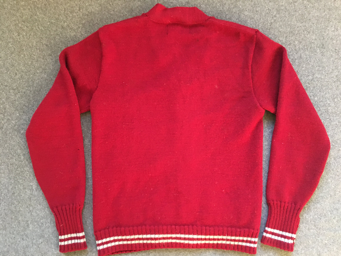 Washington State Cougars letter sweater - S