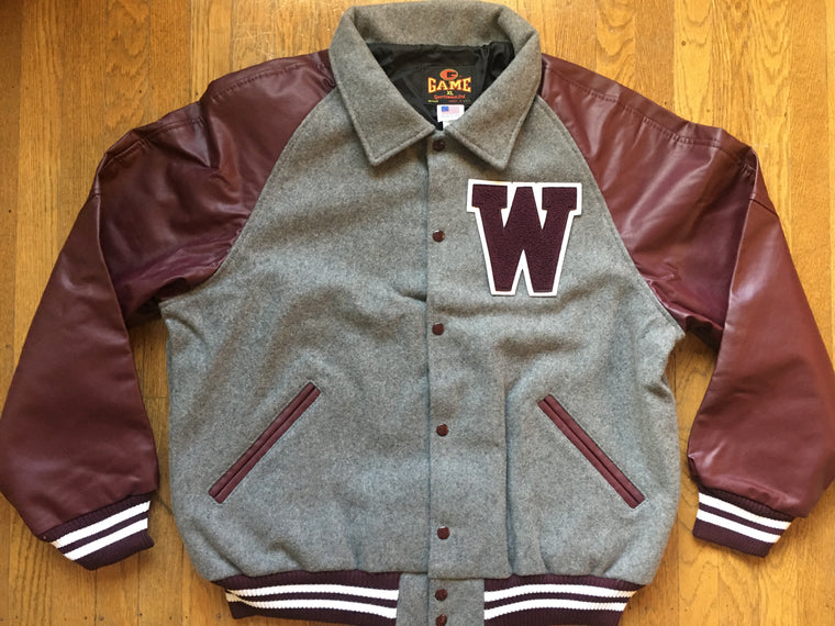 New WSU Cougars letterman jacket - M