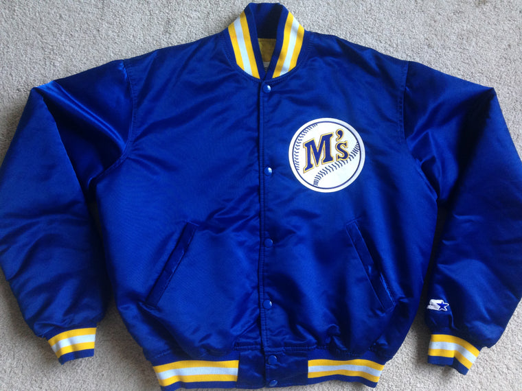 Vintage Seattle Mariners Starter satin jacket - M