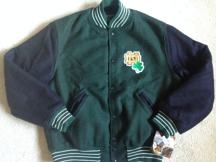 Notre Dame Fighting Irish varsity jacket - L