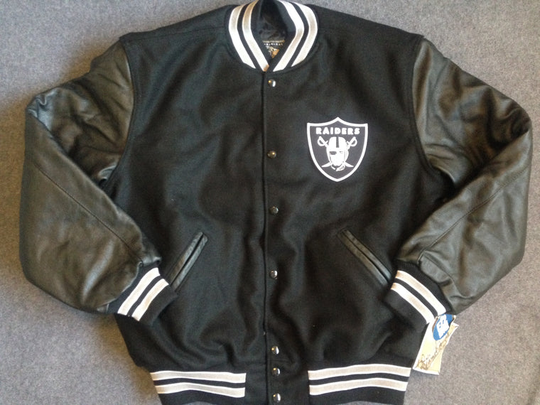 Oakland Raiders varsity jacket - L