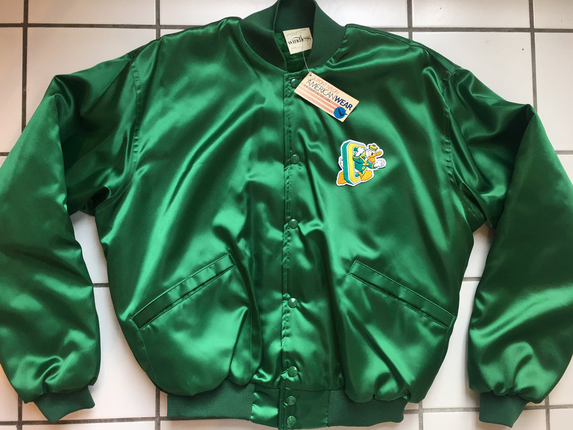 Oregon Ducks satin jacket - L