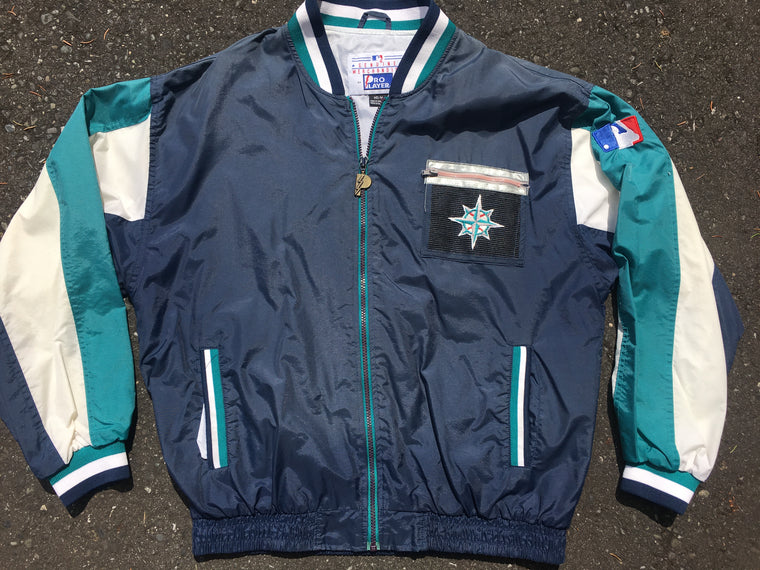 90s Seattle Mariners windbreaker - M