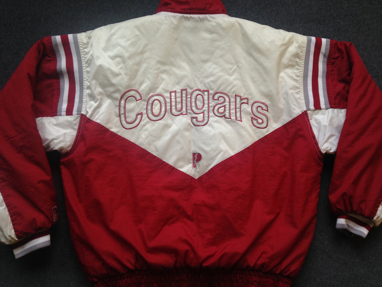 90s Washington State Cougars coat by Pro Player - L / XL