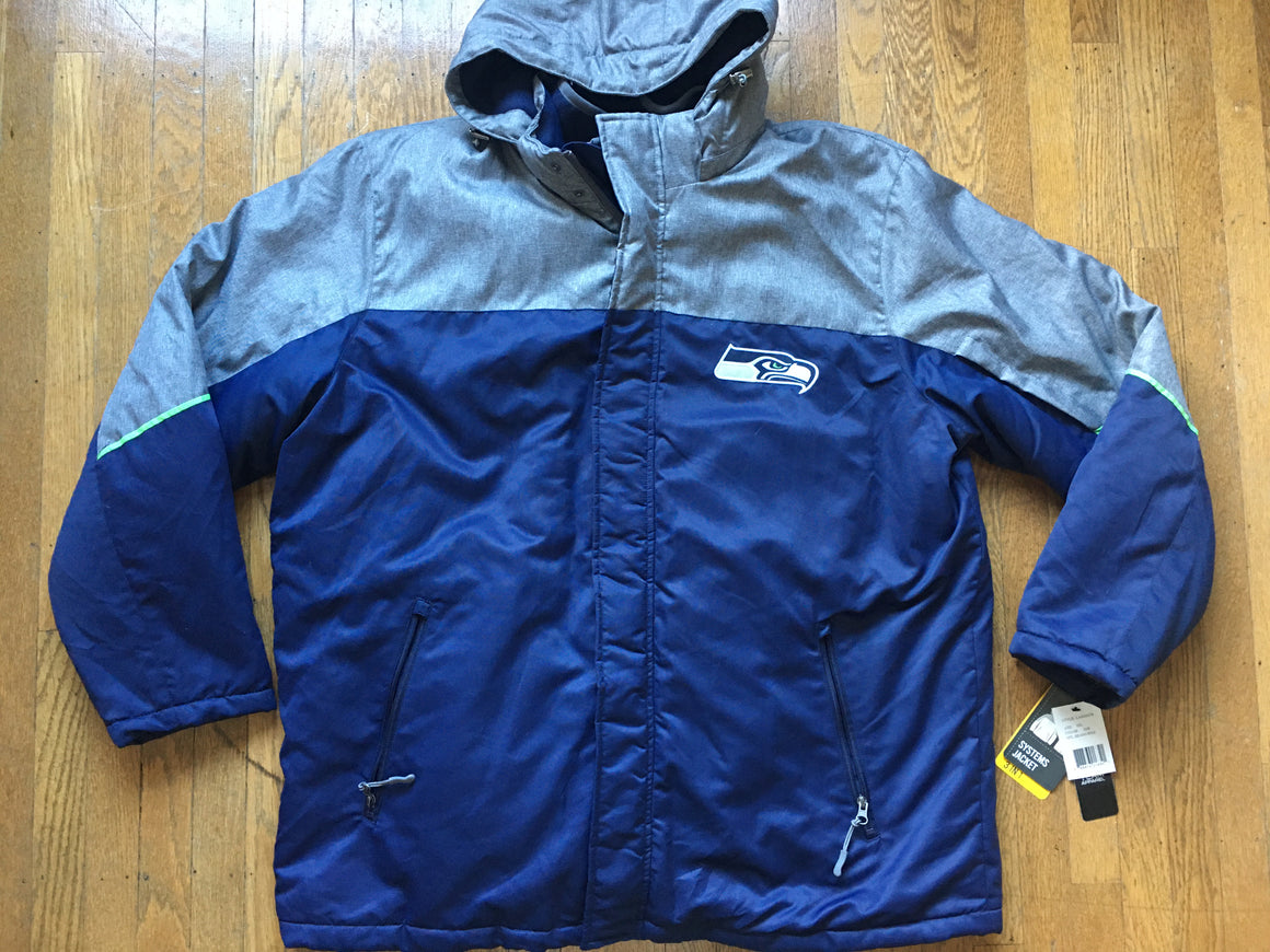 Seattle Seahawks 3 in 1 jacket & vest - XXL