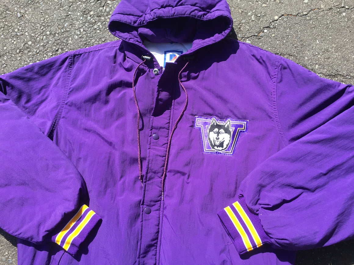 Washington Huskies puffer coat - XL