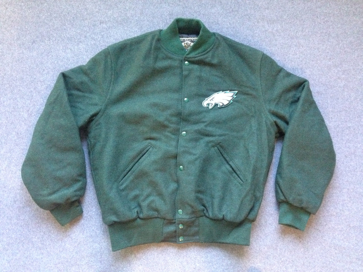 New Philadelphia Eagles letterman varsity jacket - L