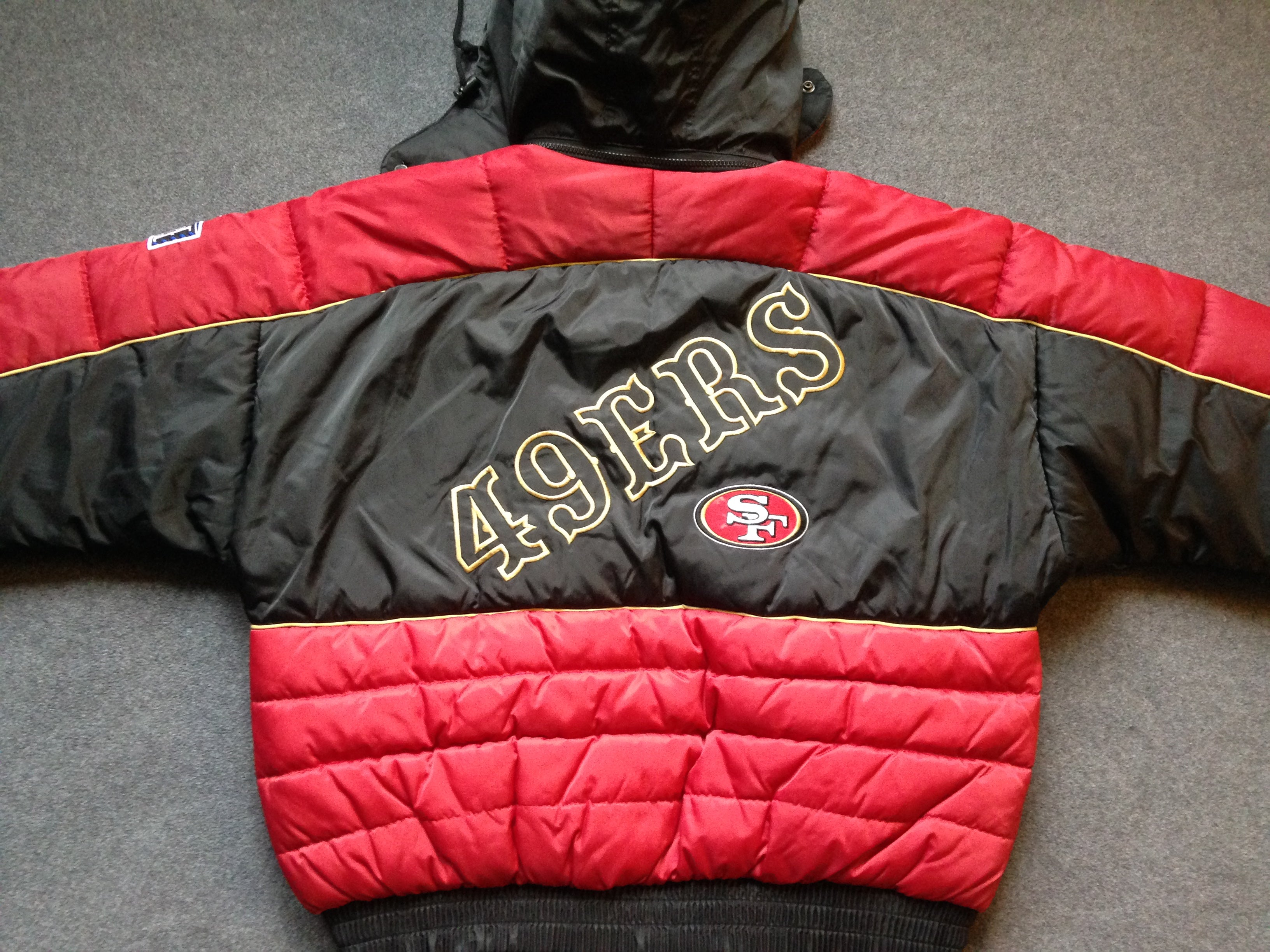 innovative design a9a69 00830 90s San Francisco 49ers coat by Pro Player - XL