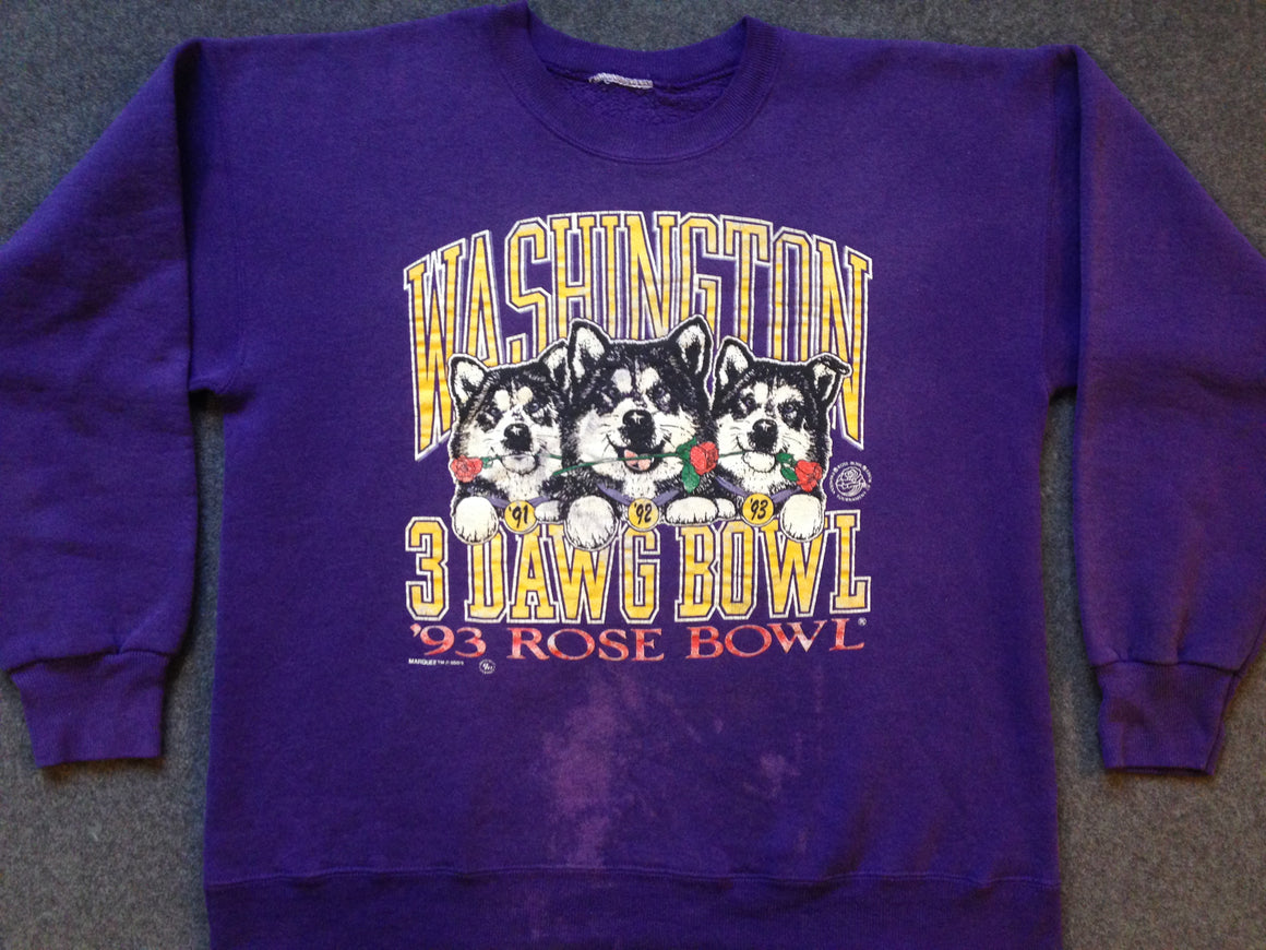 Washington Huskies Rose Bowl sweatshirt - L