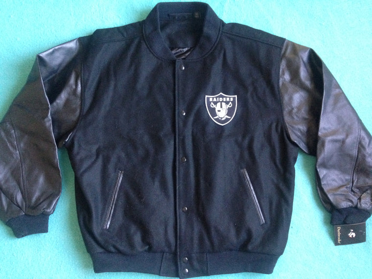 New Oakland Raiders varsity jacket - S