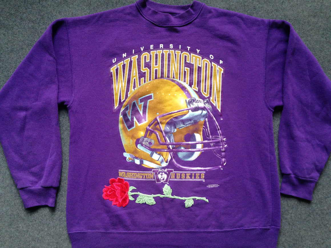 Vintage Washington Huskies Rose Bowl sweatshirt - L