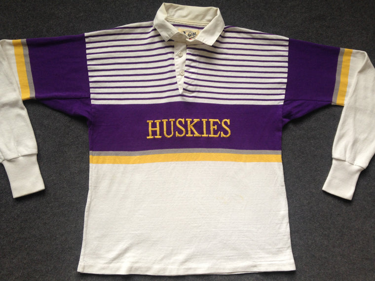 Washington Huskies rugby shirt - L