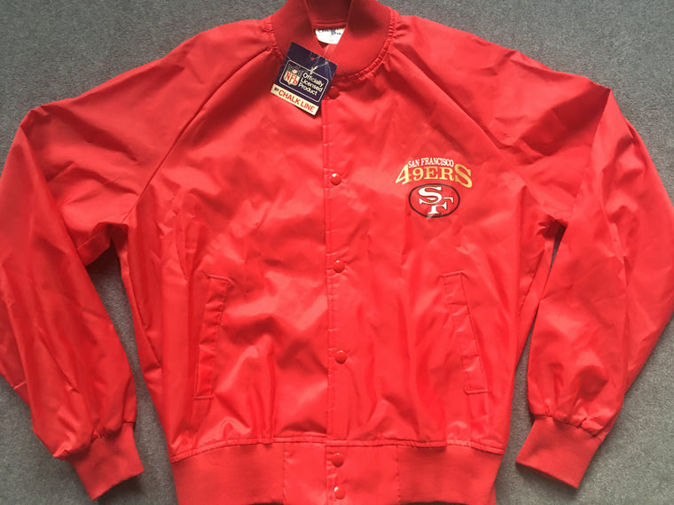 NEW WITH TAG San Francisco 49ers jacket - M