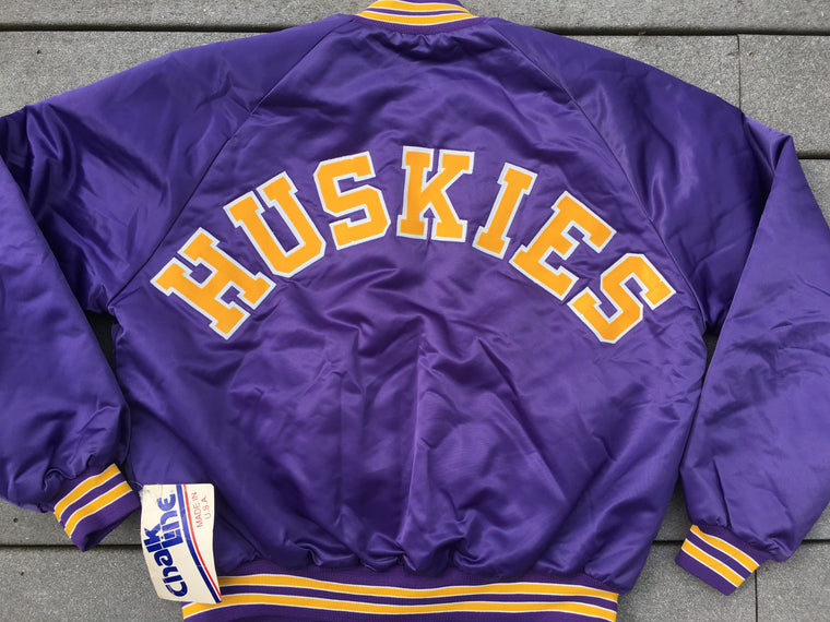 NWT Washington Huskies satin jacket - XL