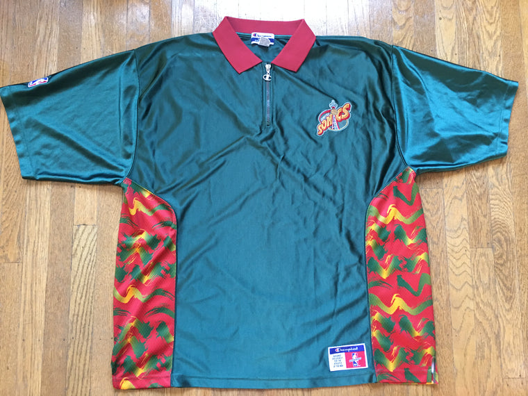 Seattle Supersonics Shooting Shirt - XXL