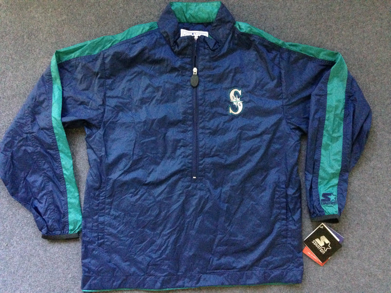 Seattle Mariners pullover jacket - S / M