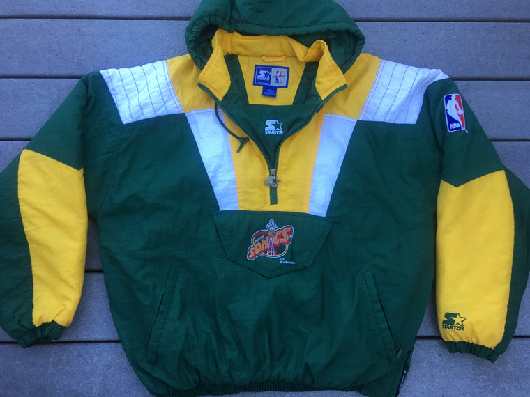 Vintage Seattle SuperSonics Starter pullover - XXL