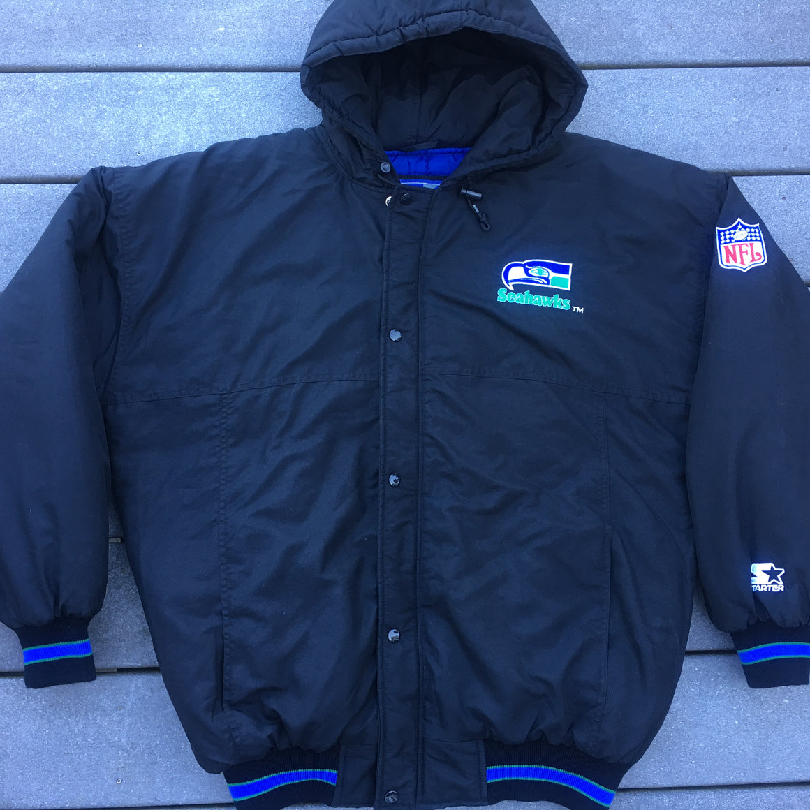 Vintage Seattle Seahawks Starter coat - XL