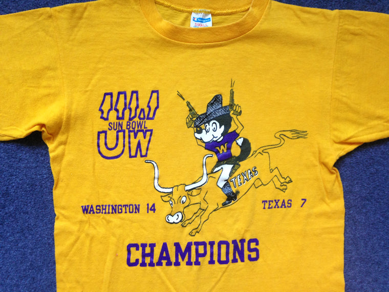 Washington Huskies 1979 Sun Bowl shirt - S