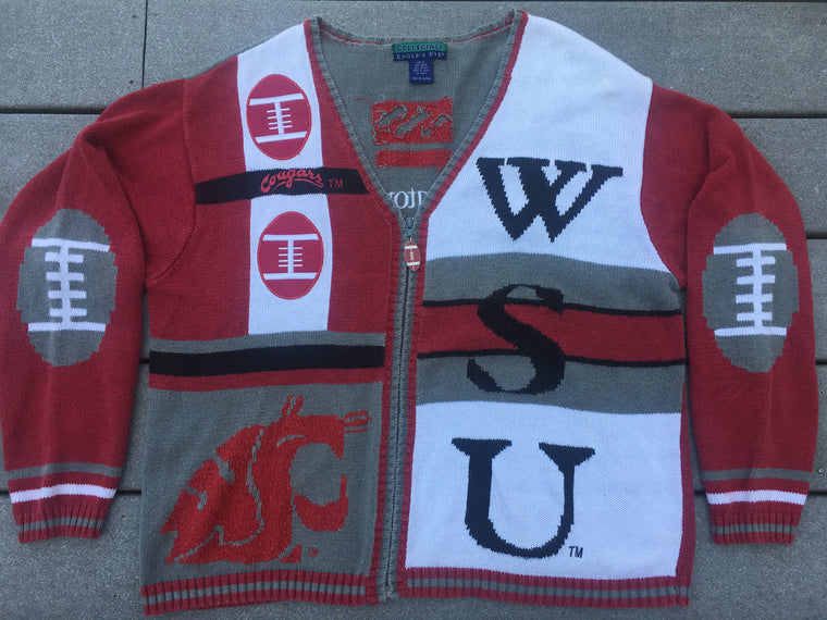 WSU Cougars sweater