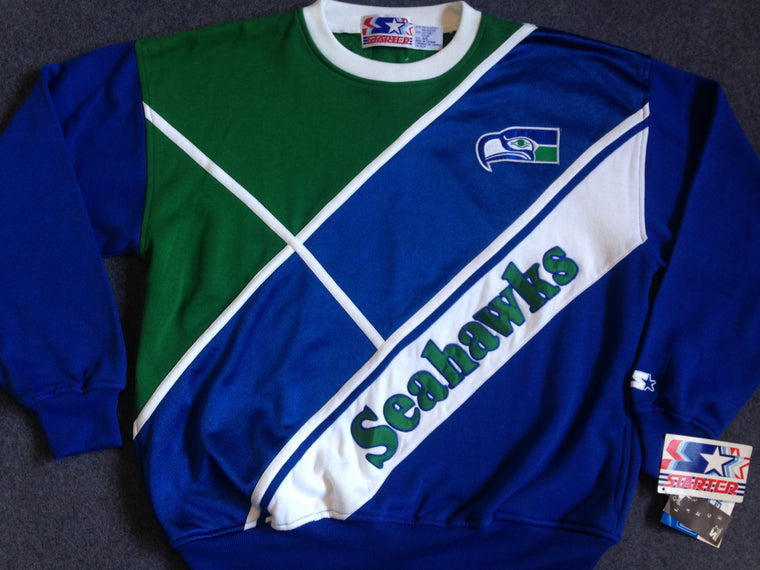 Vintage Seattle Seahawks sweatshirt by Starter - L