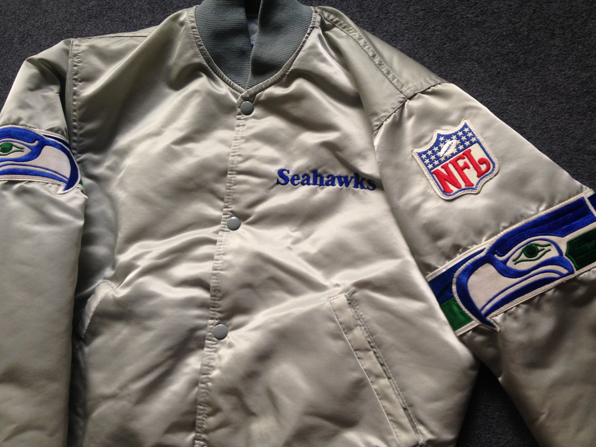 Seattle Seahawks Starter satin jacket - L