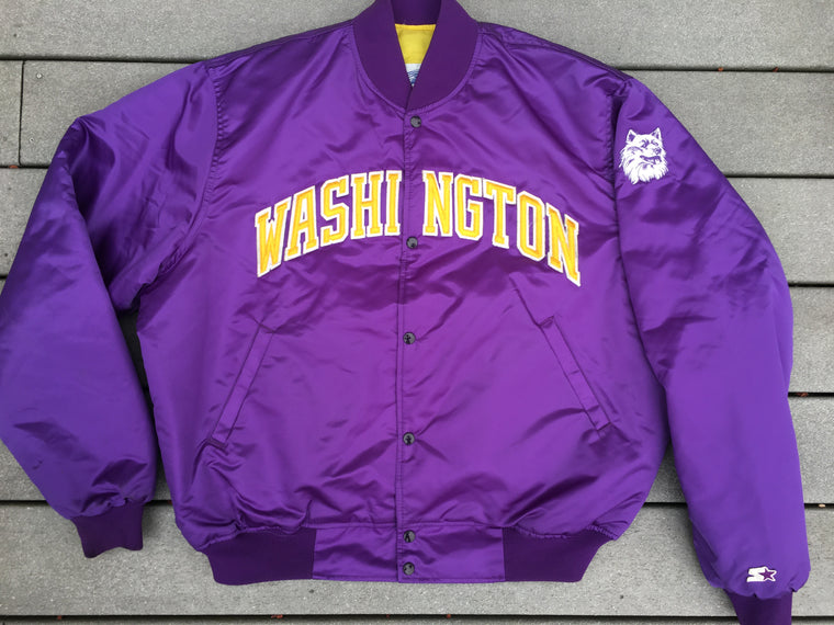 Washington Huskies STARTER satin jacket - XXL