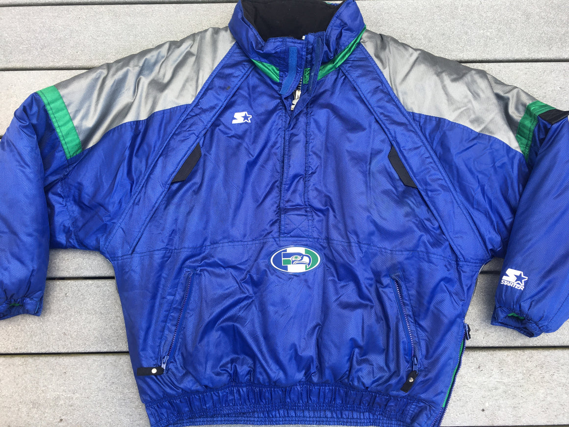 Seattle Seahawks puffer coat by Starter - XL / 2XL