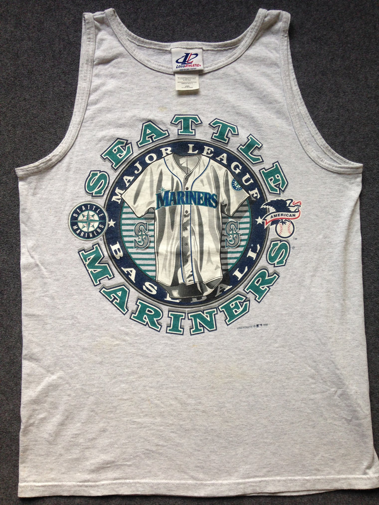 90s Seattle Mariners tank top - L
