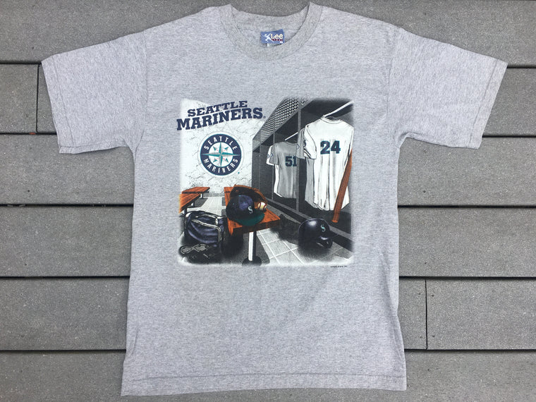 90s Seattle Mariners shirt - L
