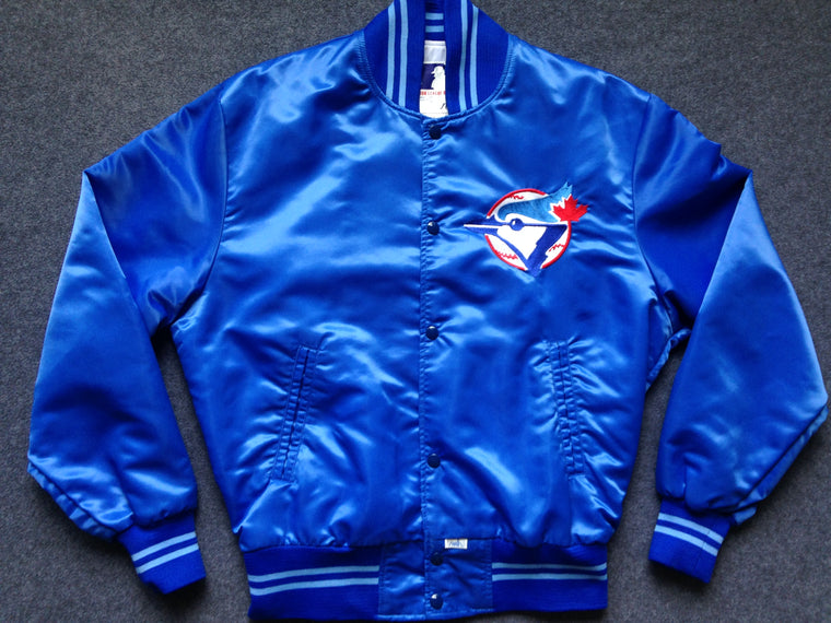 Vintage MINT Toronto Blue Jays satin jacket - L