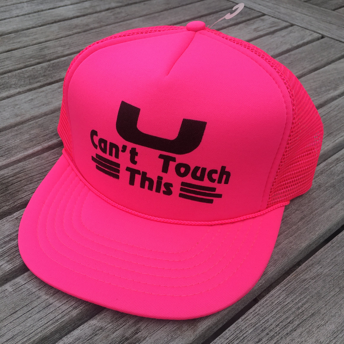 U Can't Touch This hat