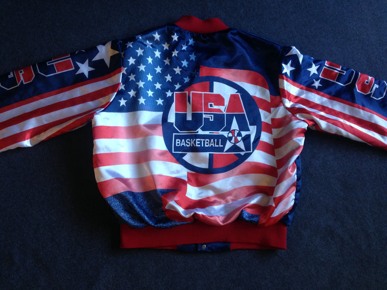 1992 Dream Team USA Basketball Fanimation jacket - L