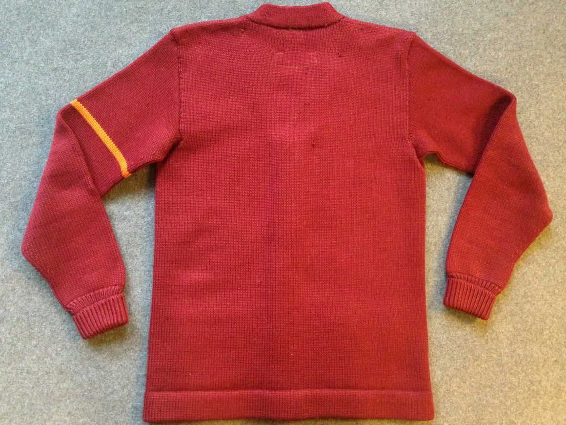 USC Trojans letterman sweater - S
