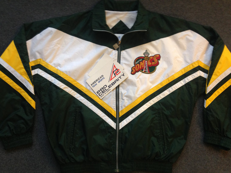Vintage Seattle Supersonics jacket - L