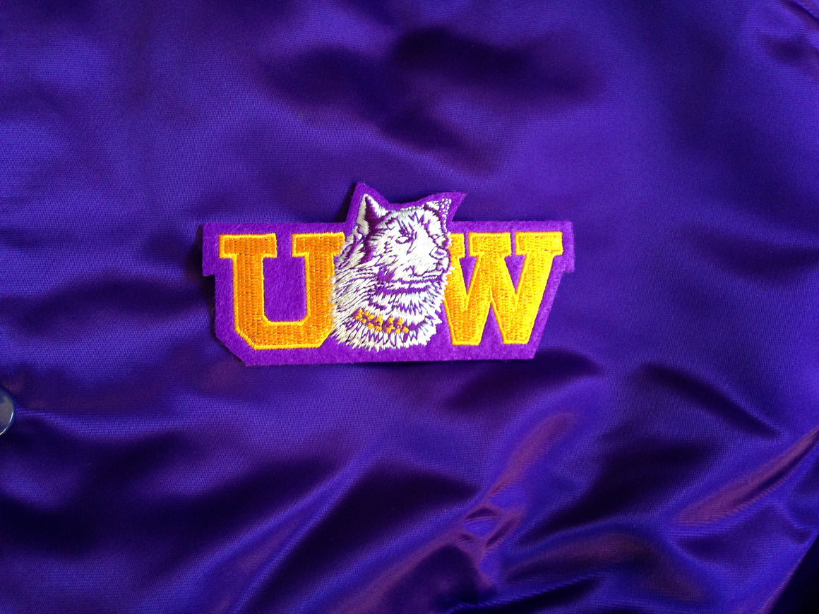 Vintage NWT Washington Huskies STARTER satin jacket - L
