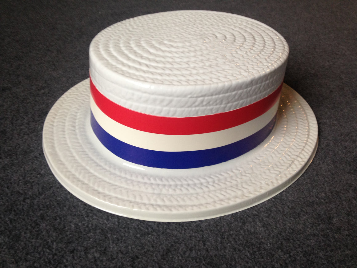 Yankee Doodle Uncle Sam plastic straw hat