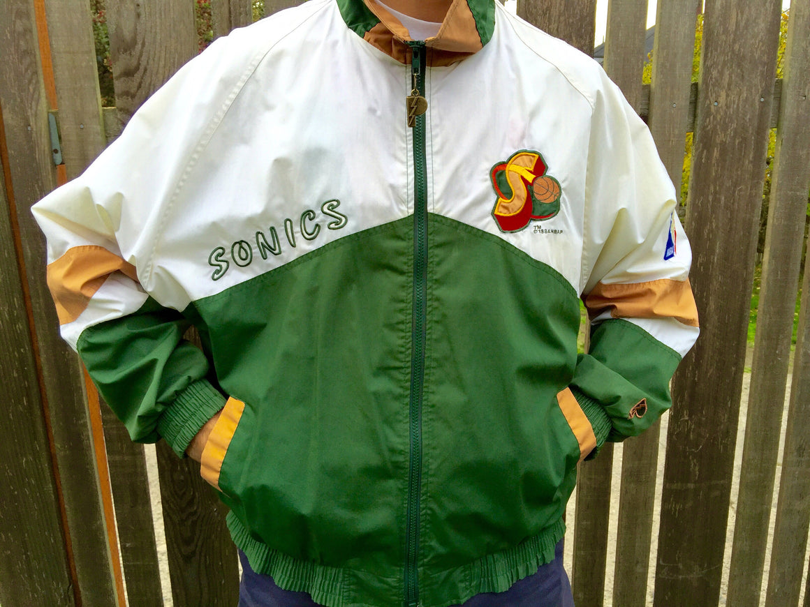 Vintage Seattle Supersonics jacket by Pro Player - XL
