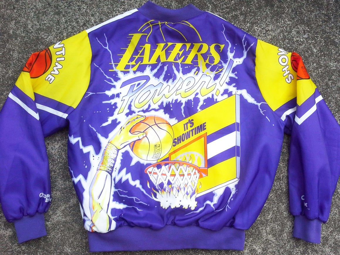VTG Los Angeles Lakers Fanimation jacket by Chalk Line - XL