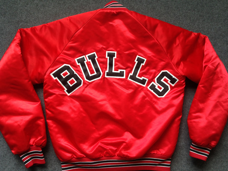 Vintage Chicago Bulls satin jacket - S