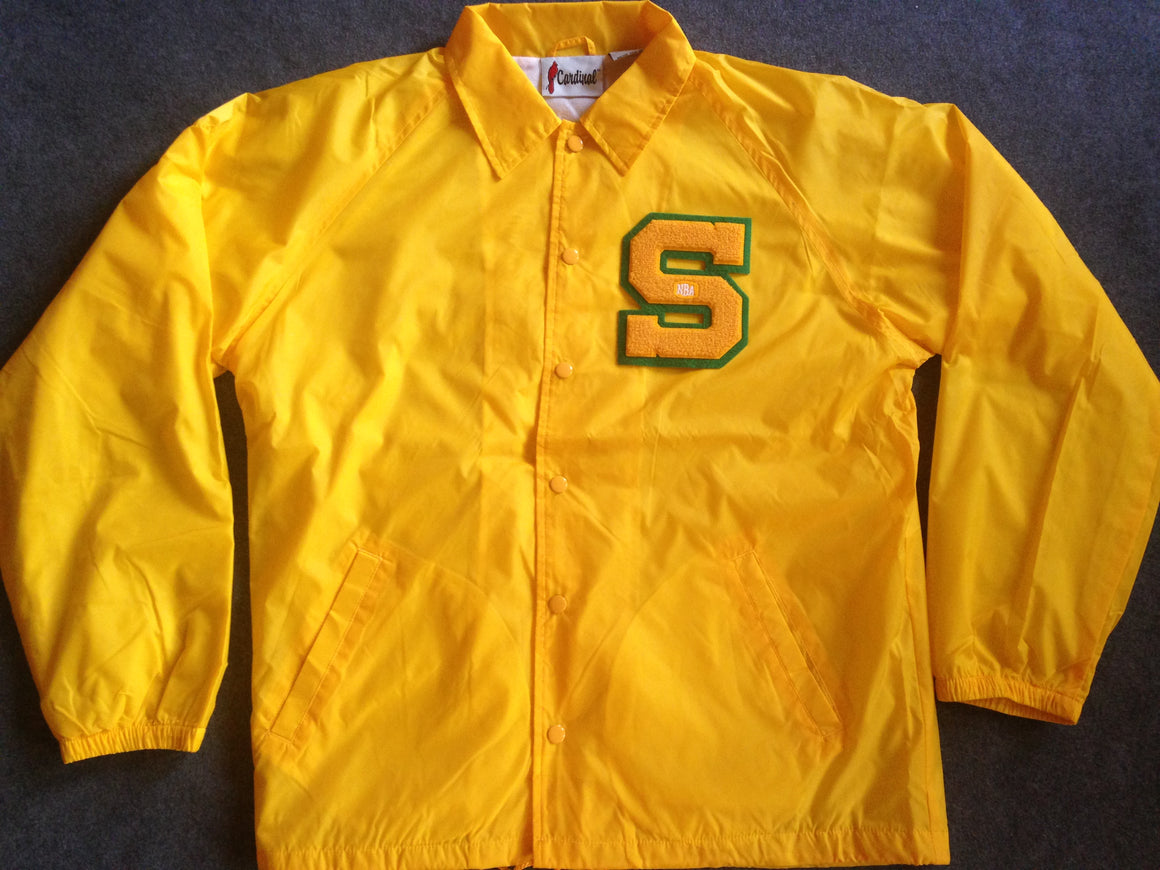 New Seattle Supersonics jacket - L