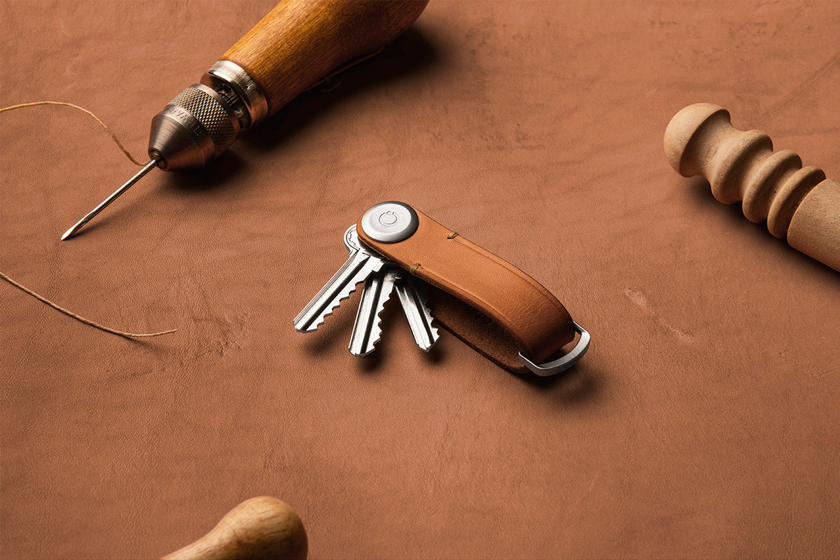 Orbitkey Studio Session 1 — VOYEJ Hand-crafted Leather
