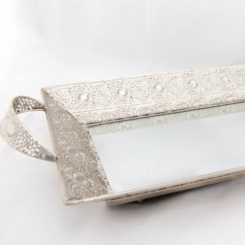 Antique Tray - Silver