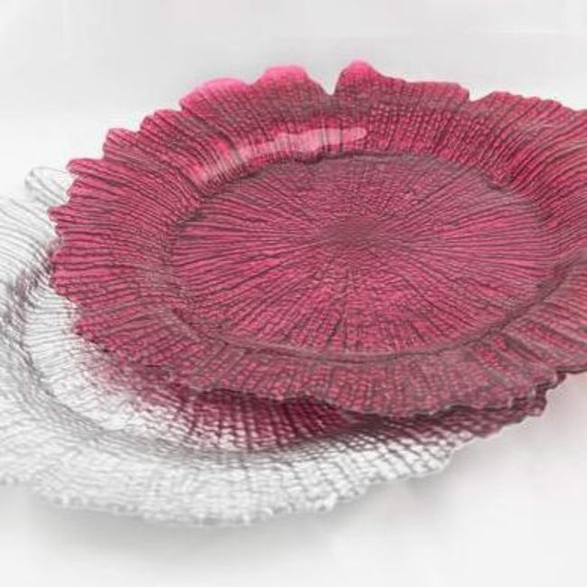 Charger Plate - Maroon