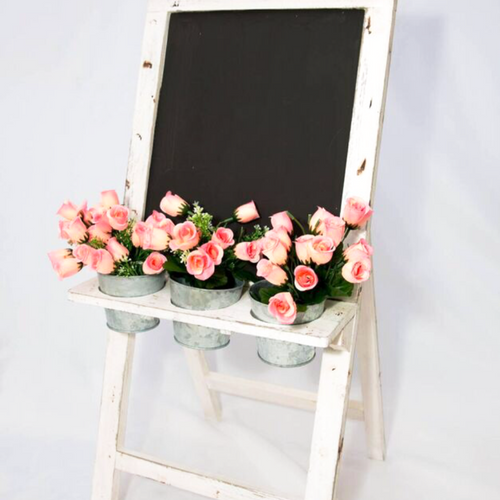 Blackboard And Planter