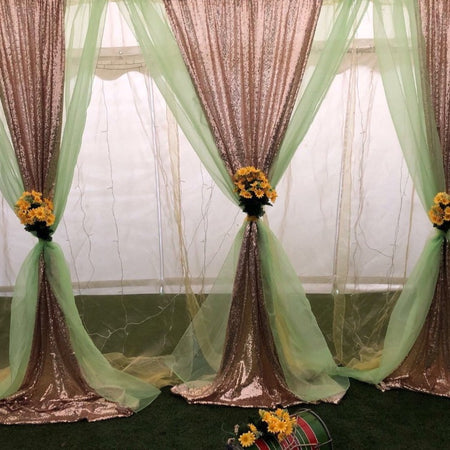 Backdrop Curtain - Bollywood Mehndi