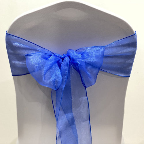 Organza Sash -Royal Blue
